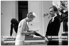 wonderful moment at syon park wedding ceremony