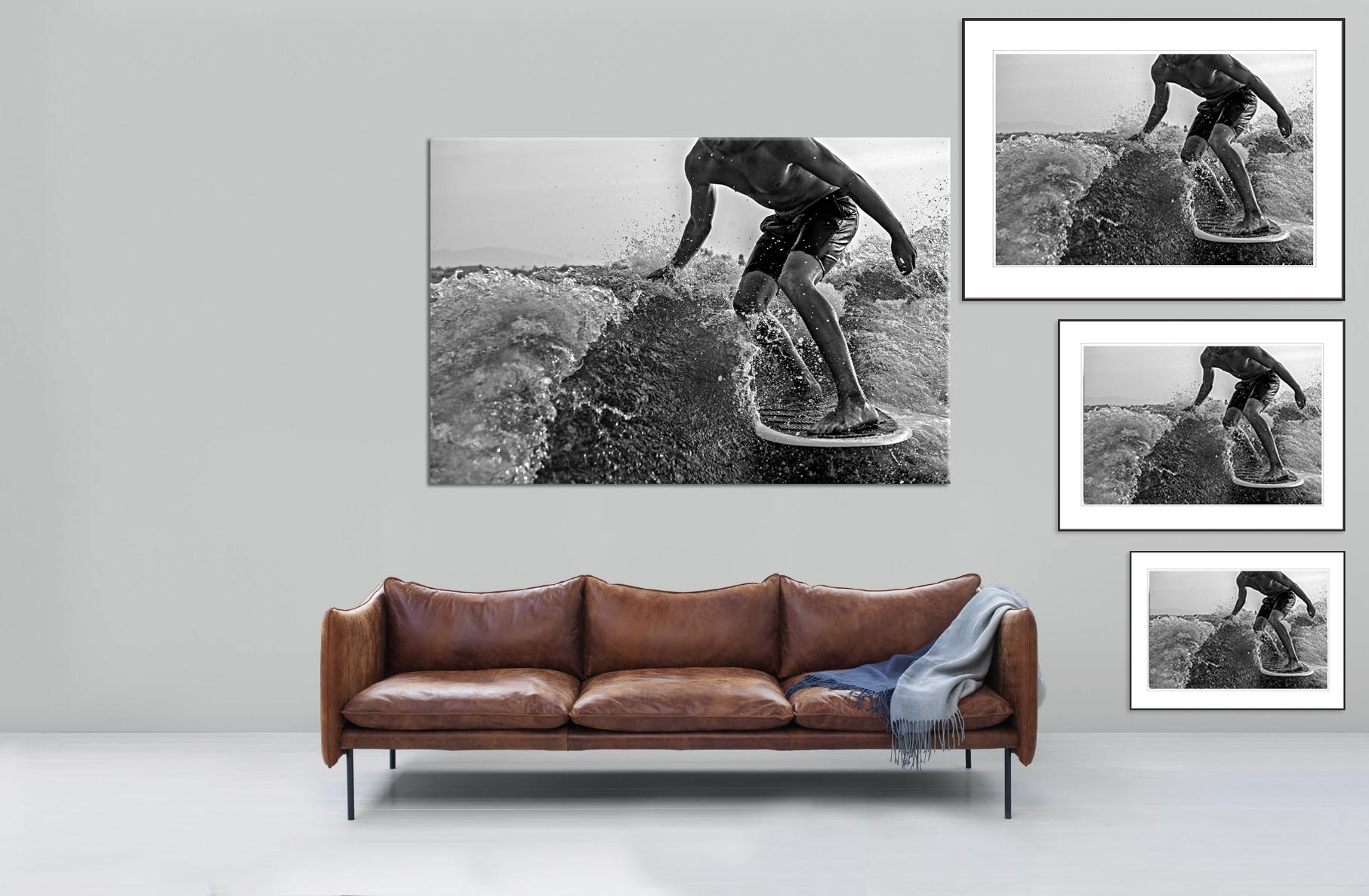 The Surfer Fine Art Print
