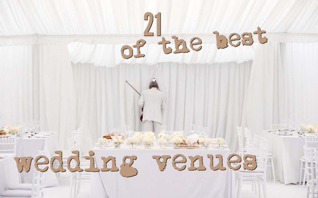 2020 Small wedding Venues